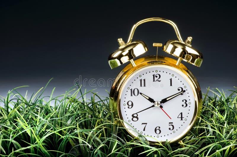 闹钟时间 库存图片