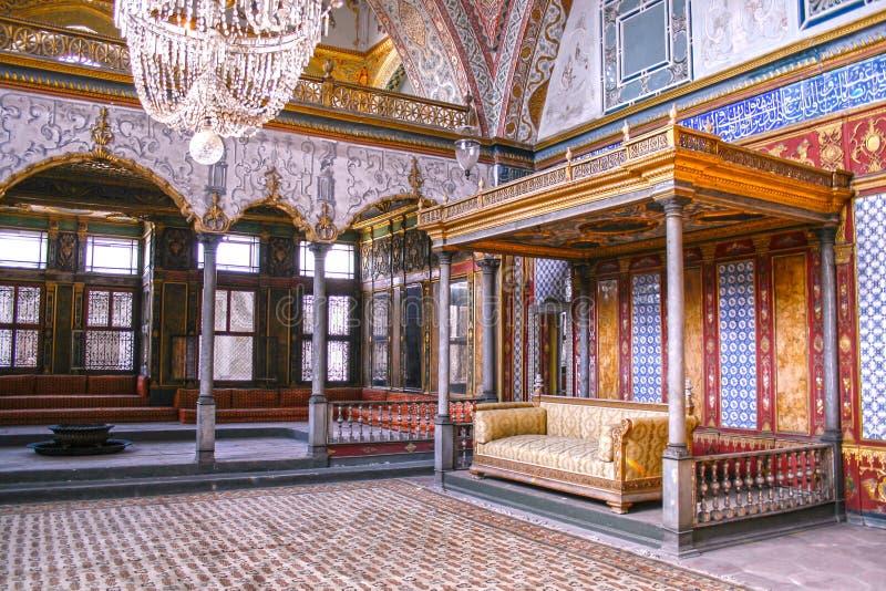 闺房在Topkapi宫殿 库存图片
