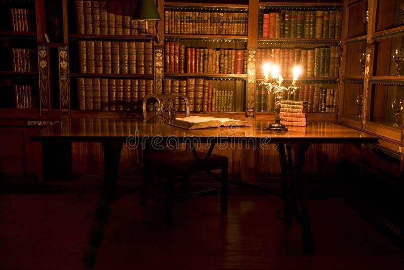 阅览室 库存照片