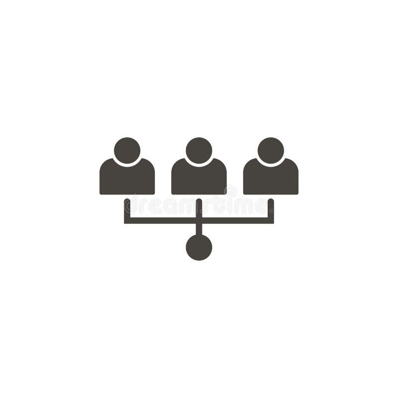 队,用户,具体化导航象 简单的元素illustrationTeam,用户,具体化导航象 r 向量例证