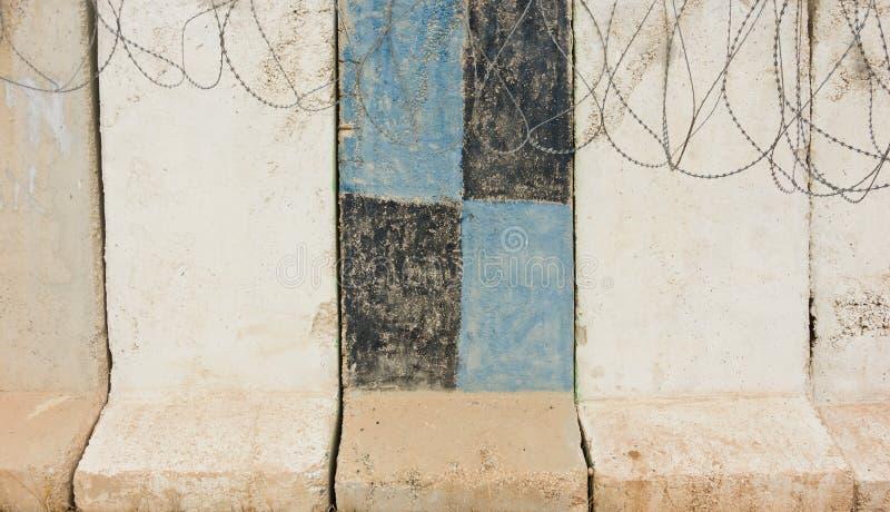 防御墙壁 库存图片