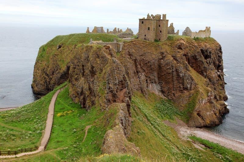 防御dunnottar苏格兰英国 图库摄影