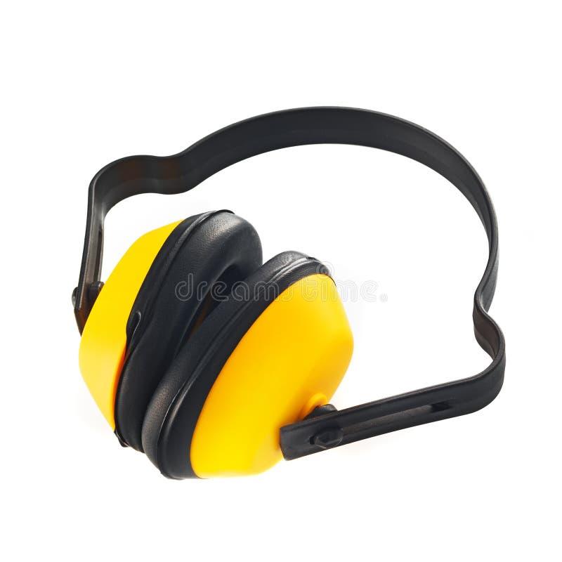 防护耳朵笨拙的人 库存图片