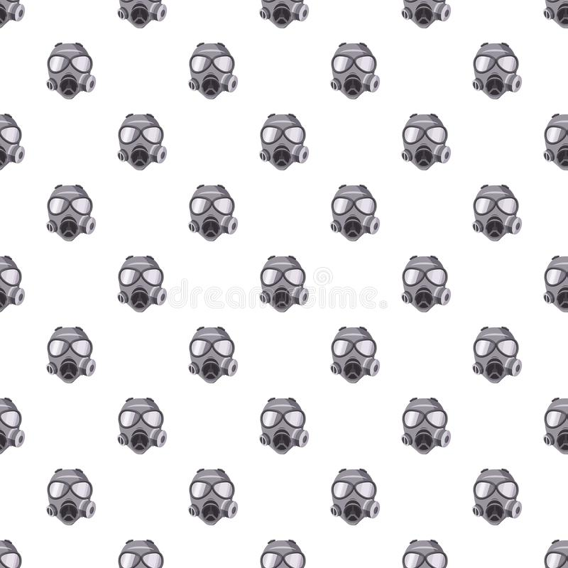 防毒面具样式 向量例证