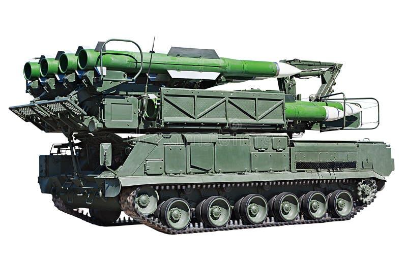 防空导弹系统 免版税库存照片