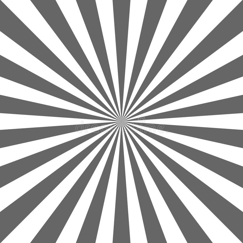 阳光抽象背景 灰色和白色色彩生成背景 也corel凹道例证向量 太阳射线光芒 库存例证