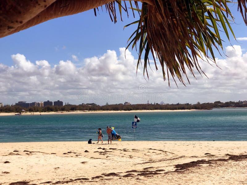 阳光海岸旅游业6 免版税图库摄影