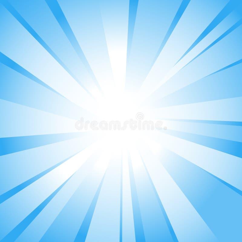 阳光 向量例证
