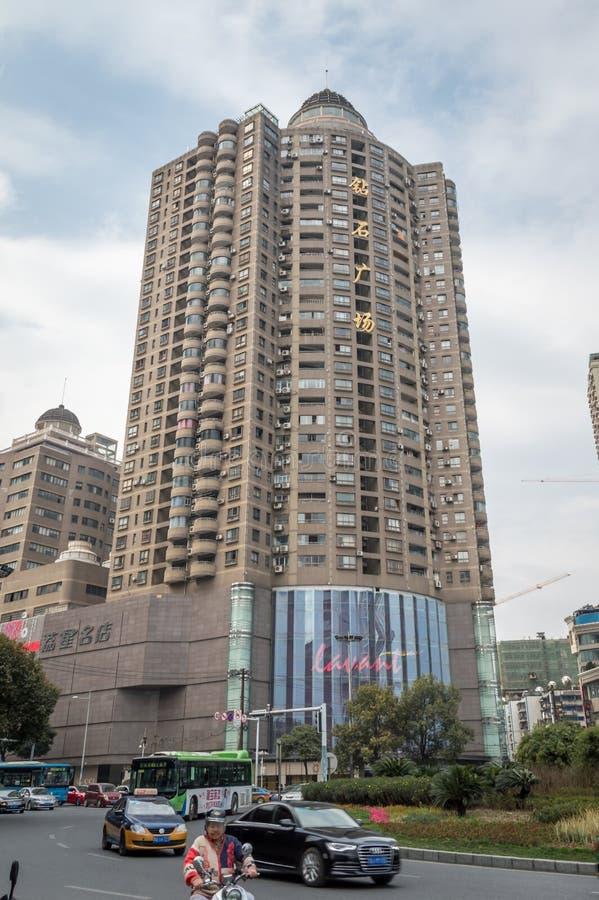 贵阳创立2的市中心 免版税库存照片