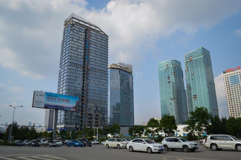 贵阳商务中心城市 库存图片