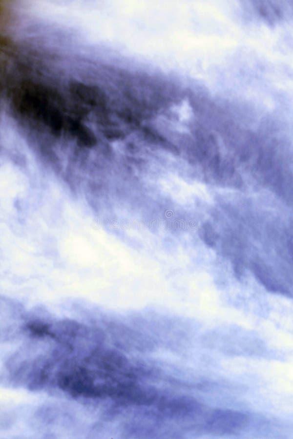 阴暗云彩是非常美丽的 库存图片
