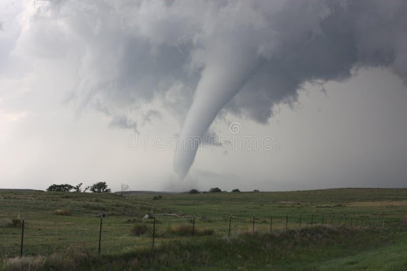 阵亡将士纪念日龙卷风在科罗拉多 免版税图库摄影