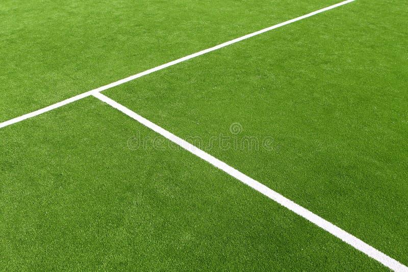 阵营域草绿色桨网球纹理 免版税库存照片