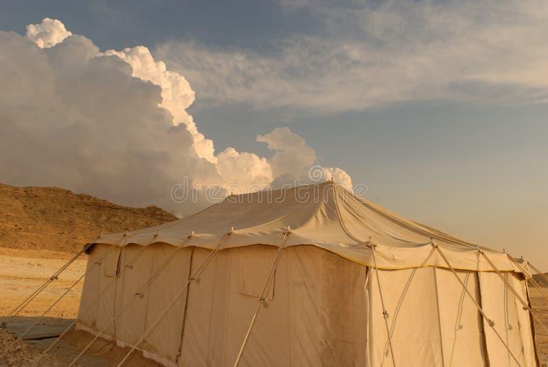 阵营沙漠 图库摄影