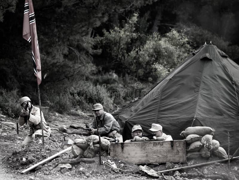 阵营纳粹 图库摄影
