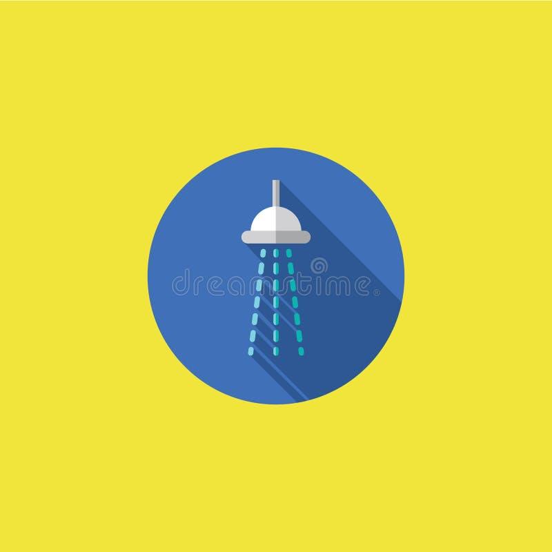 阵雨象传染媒介例证 库存照片