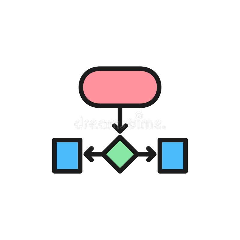 阶式结构,辅助图平的颜色象 皇族释放例证
