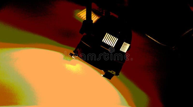 阶段反射器 免版税图库摄影