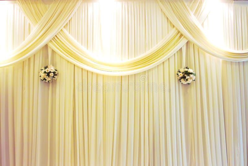 阶段婚礼 免版税图库摄影