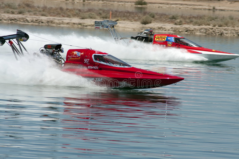 阻力水上飞机国际赛跑 免版税库存照片