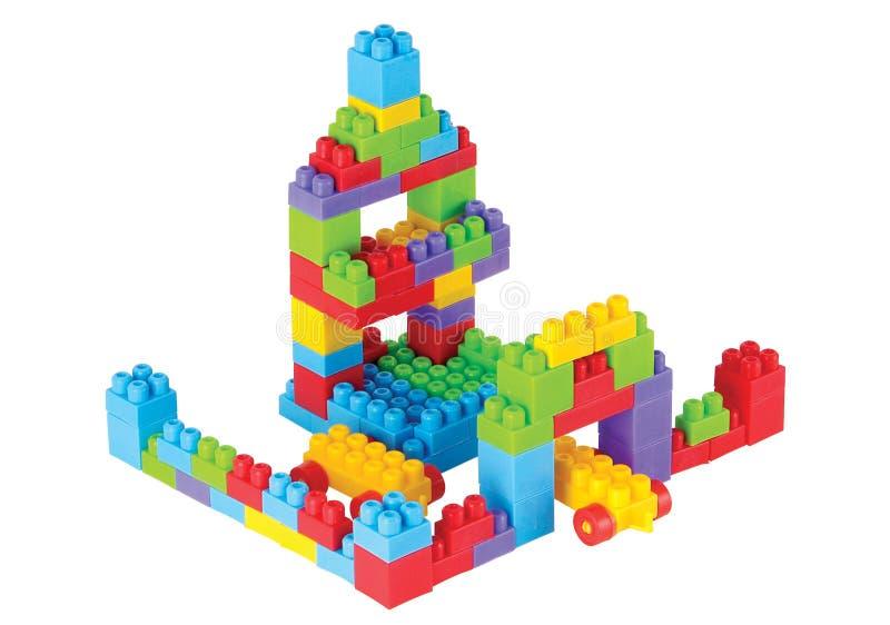 阻拦lego 免版税库存图片