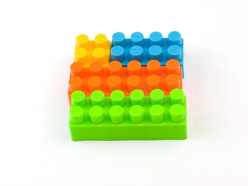 阻拦lego 图库摄影