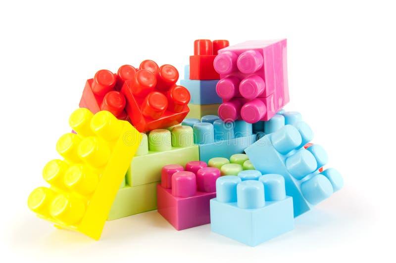 阻拦lego 免版税库存照片