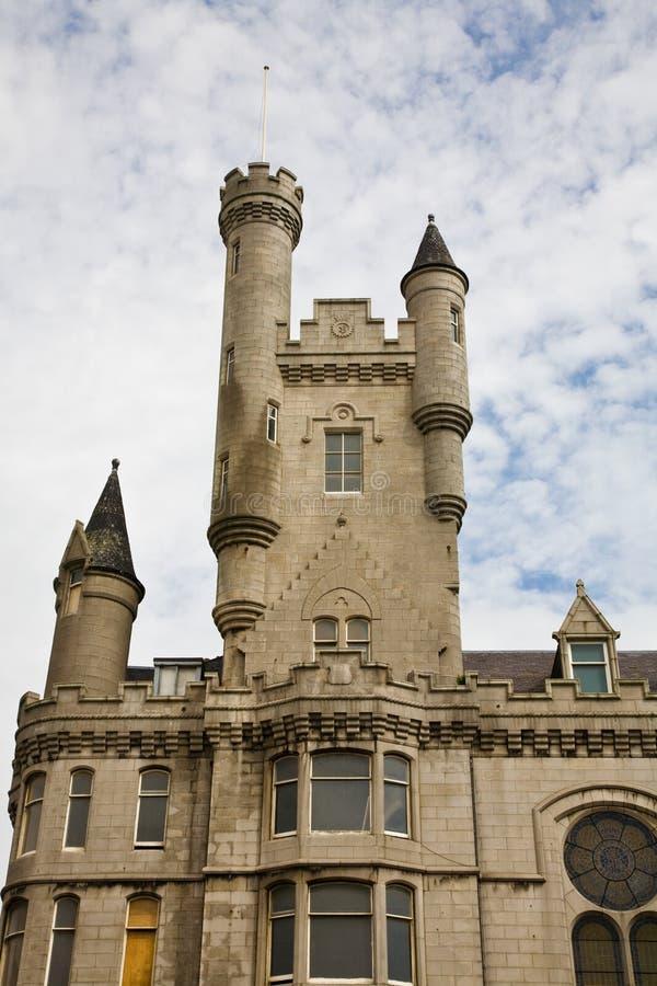 阿伯丁陆军城堡救世苏格兰 库存照片