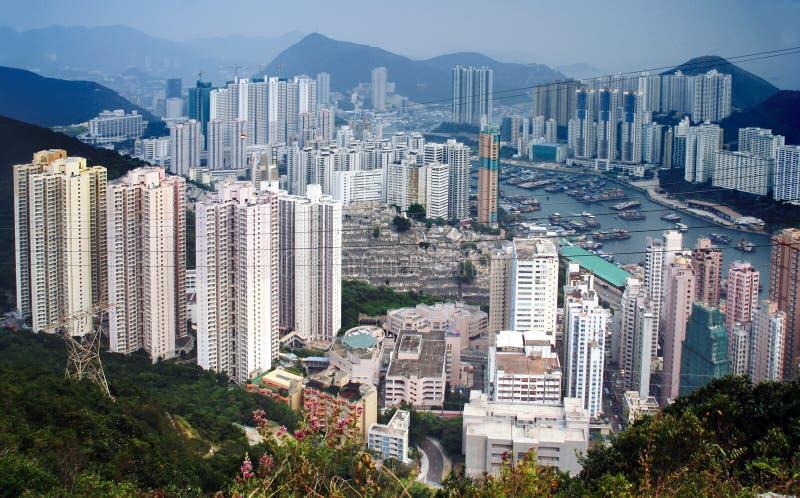 阿伯丁香港 免版税图库摄影