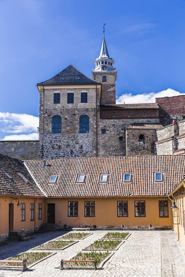 阿克什胡斯城堡 免版税库存图片