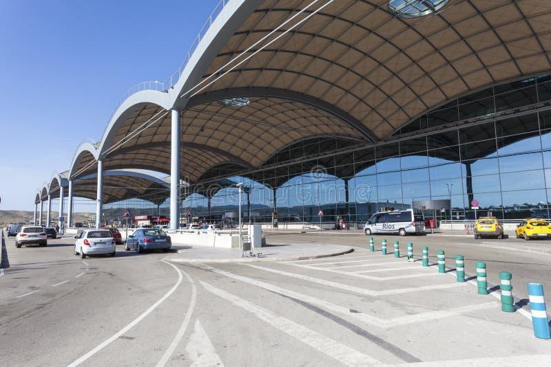 阿利坎特机场,西班牙 免版税库存照片