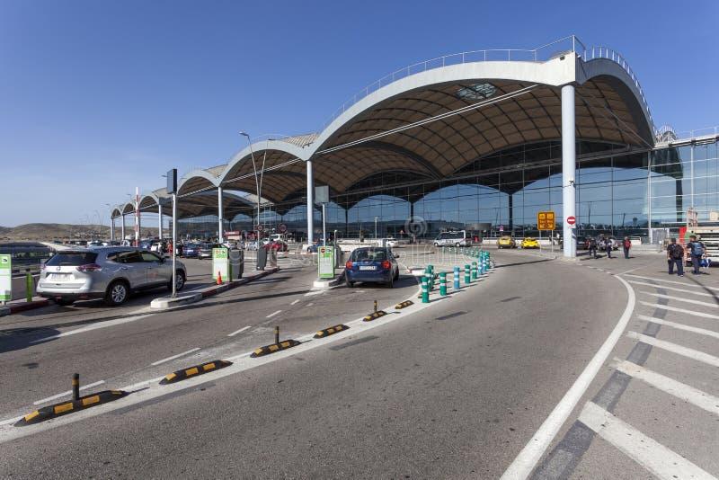 阿利坎特机场,西班牙 库存图片