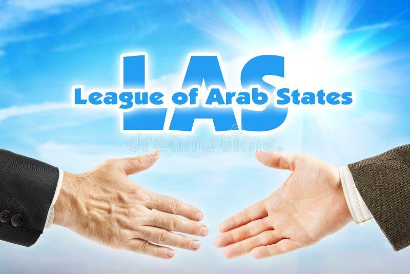 阿剌伯联盟,LAS 阿拉伯国家的组织 库存图片
