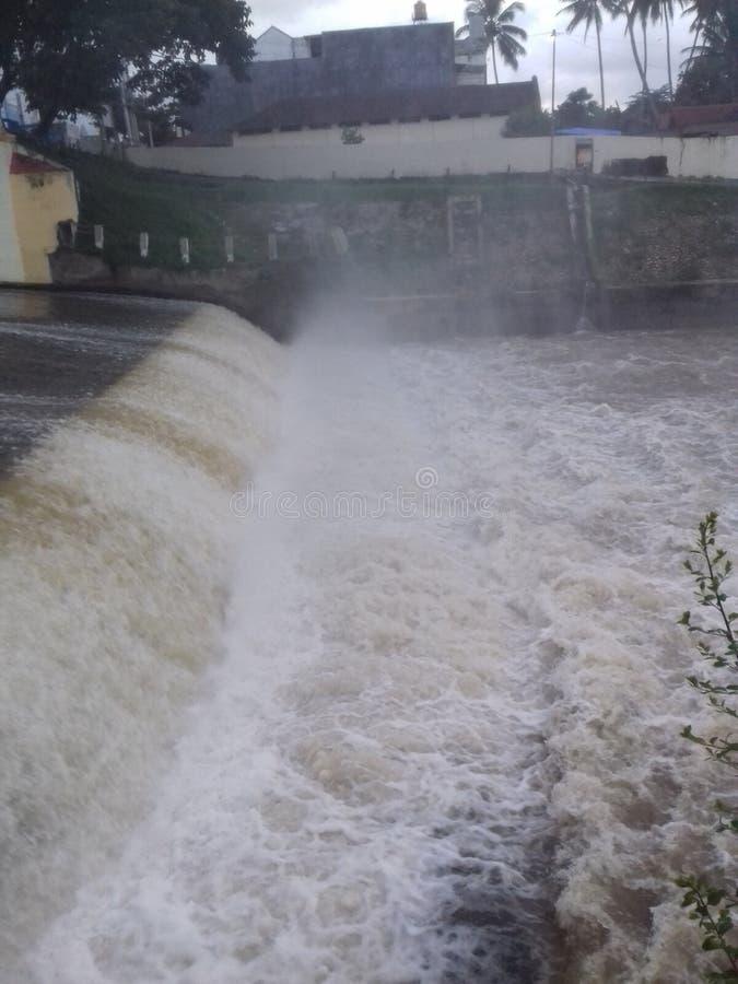 阿加姆河 库存照片