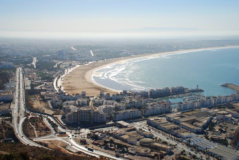 阿加迪尔,摩洛哥 免版税库存图片