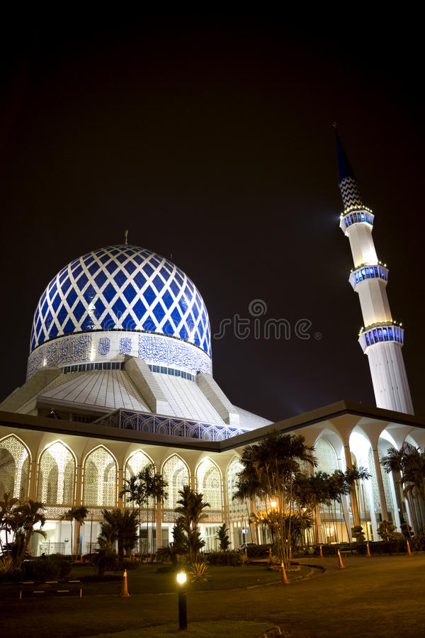阿卜杜勒aziz清真寺salahuddin shah苏丹 库存照片