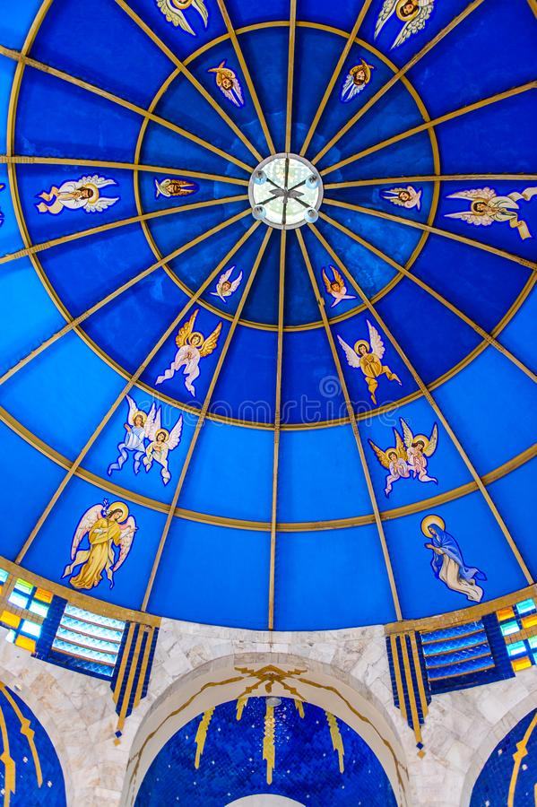 阿卡普尔科,天主教Archdicese,格雷罗州大主教管区, 免版税图库摄影