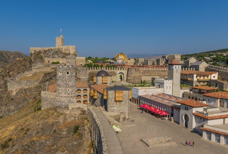 阿哈尔齐赫,乔治亚- Rabati城堡 库存照片