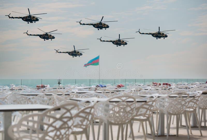 阿塞拜疆空军队 图库摄影