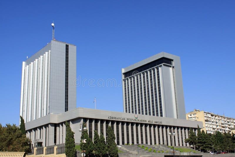 阿塞拜疆议会 库存图片