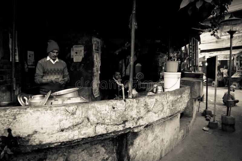 阿姆利则,旁遮普邦,印度的厨师 库存图片