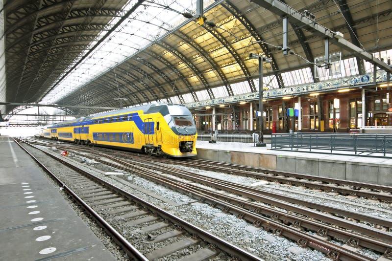 阿姆斯特丹中央荷兰岗位培训 库存照片