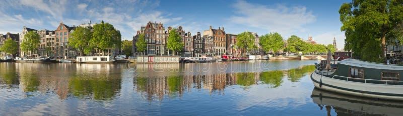 阿姆斯特丹反射,荷兰 免版税库存照片