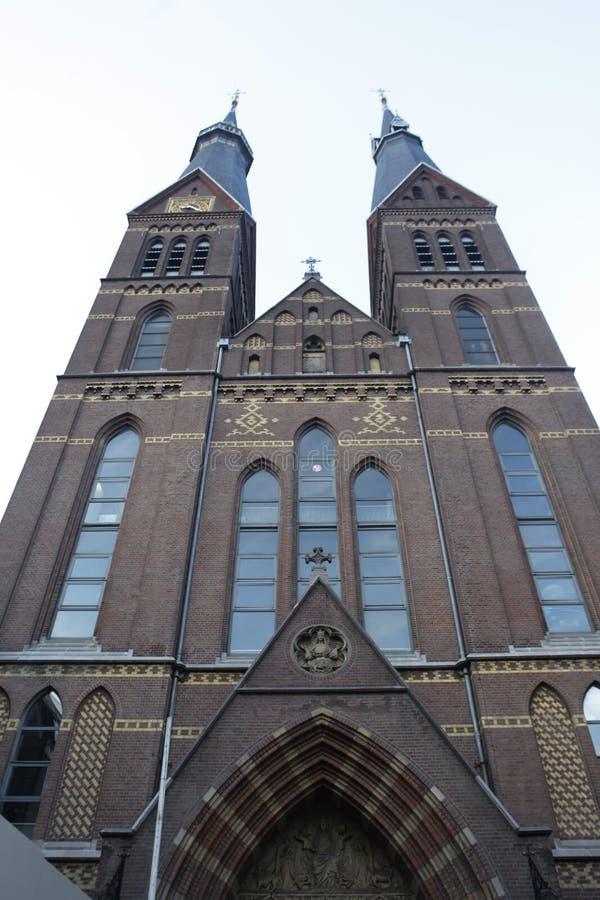 阿姆斯特丹夏日主教座堂 库存图片
