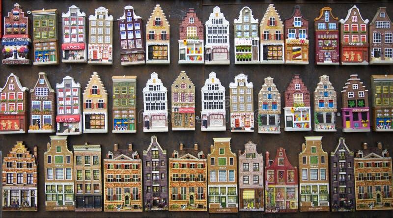 阿姆斯特丹安置纪念品 库存图片