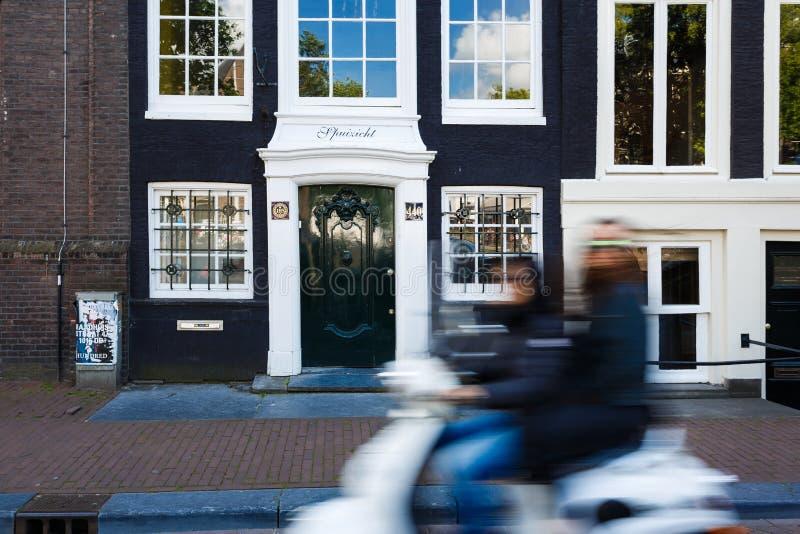 阿姆斯特丹快速的生活  库存照片
