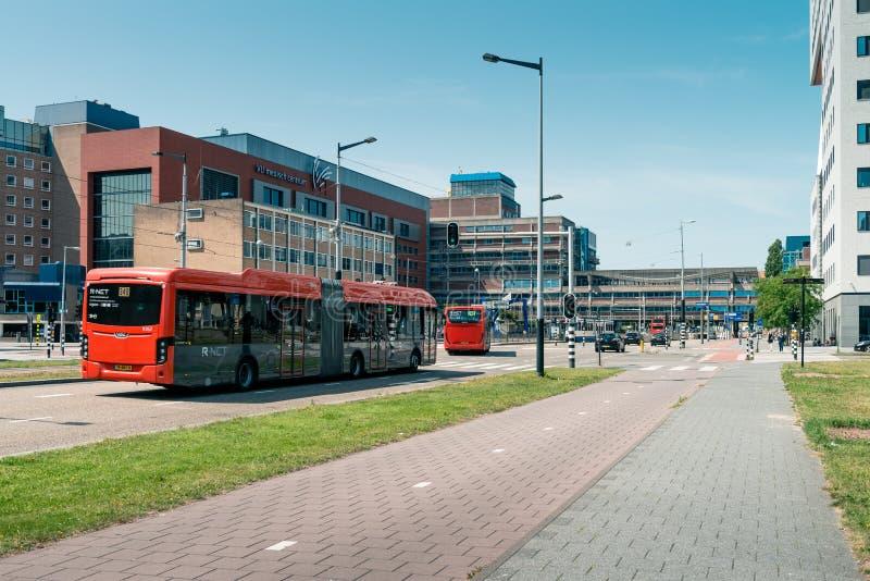 阿姆斯特丹联电医院医疗中心Zuidas在阿姆斯特丹De Boelelaan 库存照片