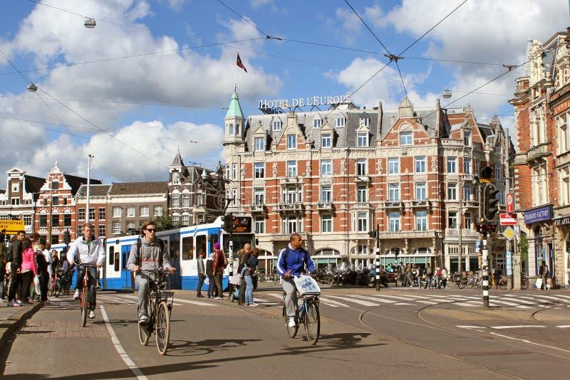 阿姆斯特丹荷兰 免版税库存图片