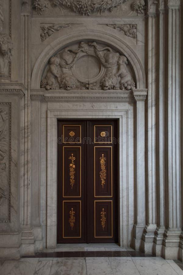 阿姆斯特丹门的王宫 库存图片