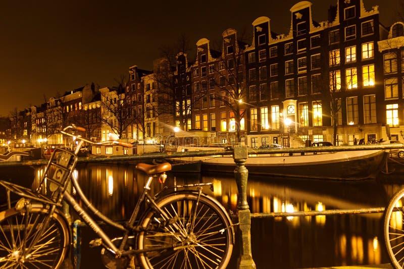 阿姆斯特丹,自行车国会大厦  免版税库存图片